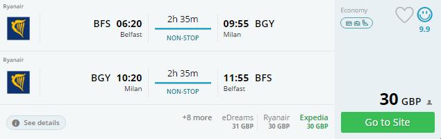 Belfast milan